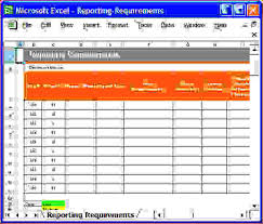 4 report requirements templatereport template document report
