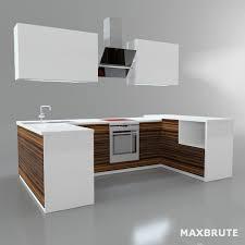 kitchen desk furniture tủ bếp 3dmax kitchen 002 maxbrute furniture visualization