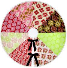 re imagine u0026 renovate holiday style color wheel tree skirt