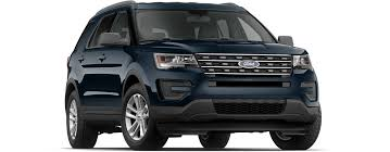 Ford Explorer Blue - 2017 ford explorer info tom u0027s ford