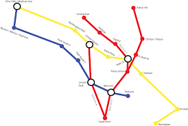 Albany Map Making A Hypothetical Subway Map For Albany First Time Doing