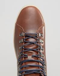 d struct hiking boots in brown for men lyst
