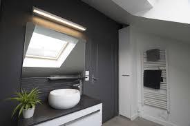 salle de bain dans chambre sous comble amenagement de salle bain sous comble inspirations et salle de