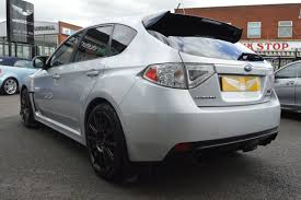 subaru impreza hatchback wrx second hand subaru impreza 2 5 wrx sti type uk 5dr sold for sale