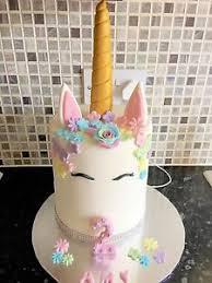 unicorn cake topper edible unicorn cake topper decoration ebay
