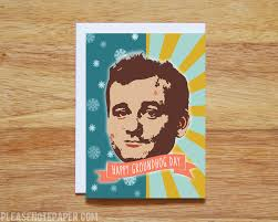 please note free printable groundhog day card