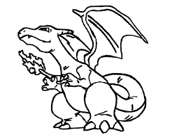 charizard pokemon coloring boys coloring pages boys