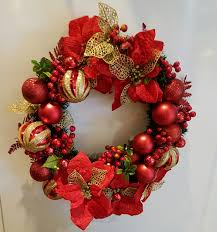 decorative christmas wreath u2013 elegant 18 u2033 christmas wreath in gold