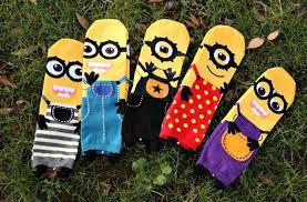 Minion Socks Adults Cartoon Women Minions Cartoon Socks Men Summer Autumn Style
