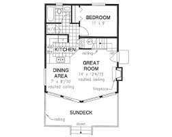 cabin style house plan 2 beds 1 00 baths 761 sq ft plan 18 4501