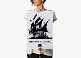 Pirate Bay The Pirate Bay Sharing Is Caring Poster Redwolf