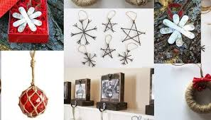 7 rustic ornaments to make at home this season