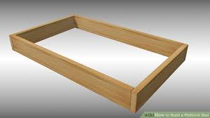 platform bed frame plans for lovely 15 diy platform beds that are