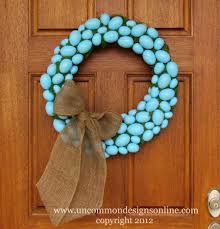 how to make an easter egg wreath 40 creative diy easter wreath ideas to beautify your home diy