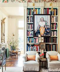 Decorate House Like Pottery Barn How To Style A Bookcase Arhaus Athens Cabinet Bookcase With Glass