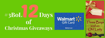 12 days of christmas giveaways day 9 walmart gift card and some