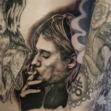 kurt cobain tattoo by grucz on deviantart