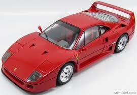 pocher k55 scale 1 8 ferrari f40 1987 red