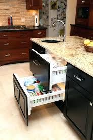 kitchen cabinet slide outs slide out shelf hardware romagent info