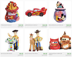 totsy disney kitchen sale featuring cookie jars and salt and