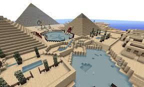 minecraft egypt project egyptian city project pinterest