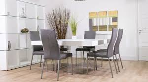 white square kitchen table luxurious white oak square dining table glass legs seats 6 8 at seat