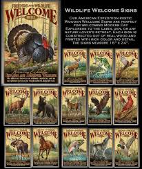 wildlife home decor signs wall plaques hunting gifts gifts for hunters gifts for
