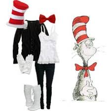 Cat In The Hat Costume Cat In The Hat Makeup And Costume Https M Facebook Com Profile