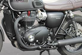 2016 triumph bonneville t120 black ride and review road tests