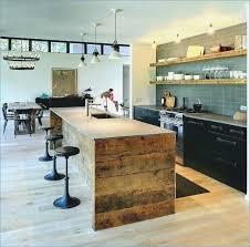 ilot de cuisine en bois ilot central cuisine bois mobokive org