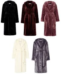 slenderella ladies super soft thick fleece dressing gown luxury