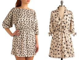 design pattern of dress from the design desk animal patterns chronicle books blog
