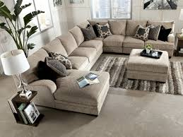 Microfiber Sectional Sofa With Ottoman by Tisha 6 Piece Sectional Package Including Storage Ottoman At Hom
