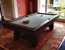 brunswick slate pool table 8 brunswick merrimack pool table in a nutmeg finish with slate grey