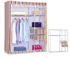 new large portable closet storage organizer clothes rack with