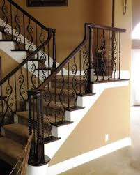 How To Refinish A Banister Love The Black Spindles Amazing Stairs Pinterest Split