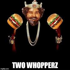 Burger Memes - two whopperz ronald mcdonald vs the burger king know your meme