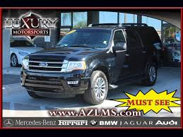 ford expedition el 2016 ford expedition el xlt for sale in phoenix az stock 14794