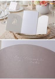 romantic simple silkprint wedding invitations blank page card high