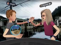 facebook u0027s vr technology allows mark zuckerberg to tour devastated