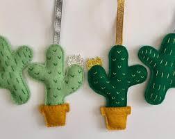 cactus decoration etsy
