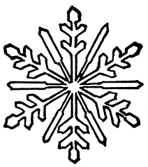snowflake coloring page drawing kids clip art library