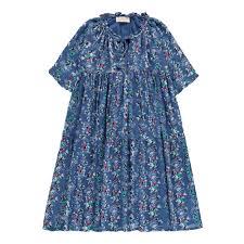 gibraltar floral maxi dress royal blue simple kids fashion teen