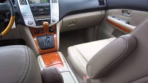 lexus rx 400h suv for sale 2007 lexus rx400h bei beige stock b2535 interior youtube
