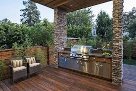 grilling porch burlingame residence