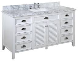 22 Inch Bathroom Vanity With Sink by Vanities White Single Sink Vanity Design Element London 54 In