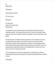 7 interview rejection letters free sample example format