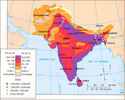 South Asia Physical Map by Geography Of South Asia