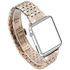 rhinestone bands mojidecor for luxury apple band 38mm replacement