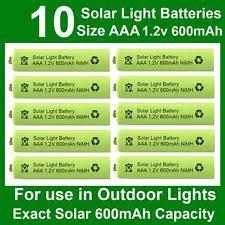 solar batteries for outdoor lights solar light batteries ebay